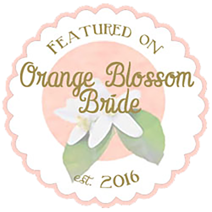Featured on Orange Blossom Brides