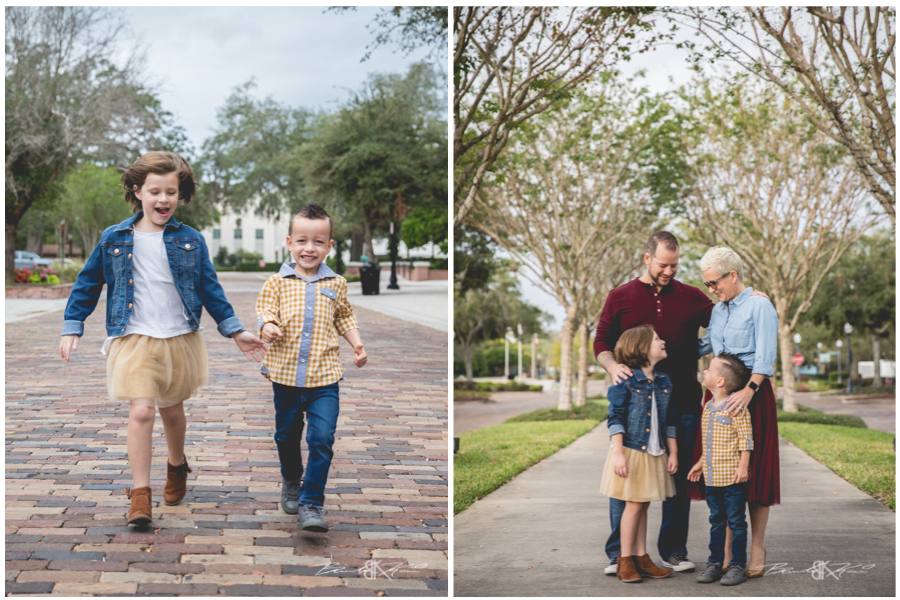 Winter Garden Family Photography