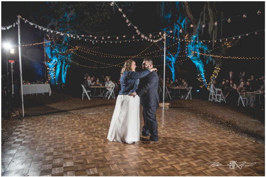 winter rustic wedding