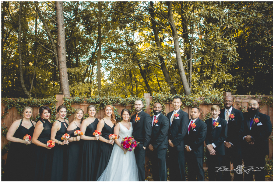 flint hill wedding