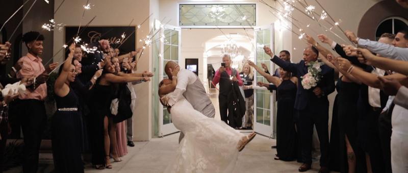 crystal ballroom wedding film